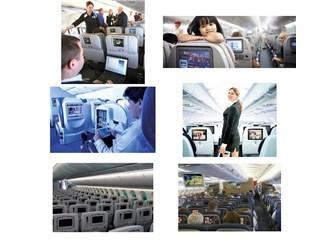 Artık uçaklarda cep telefonu ve internet serbest olacakmış.