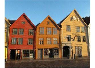 Bergen - Norveç Fiyortları'nın Başkenti