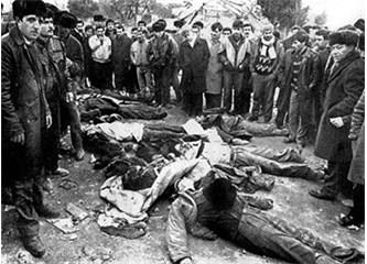Kanlı yanvar katliamında masum Azeri halkı katledildi