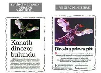 Evrimi çökerten deliller 9 –  Evrimcilerin sahte Dino kuş fosilleri