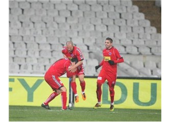Mersin İdmanyurdu'nun gücü Beşiktaş'a yetti!