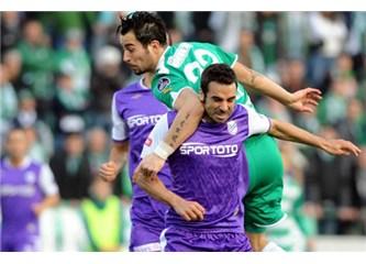Top kaleye gitmeyince... Bursaspor 0-0 Orduspor