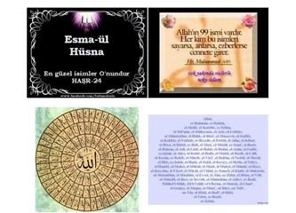 Esmaül Hüsna: Allah'ın 99 İsmi