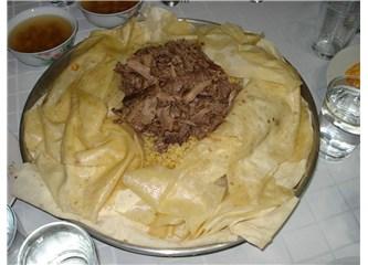 Tirit geceleri ve yemek kültürümüz