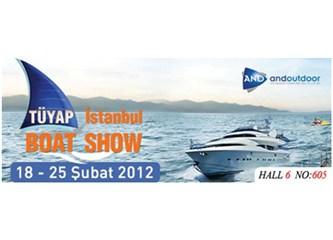 Boat Show 2012 Fuarı 18-25 Şubat tarihlerinde Tüyap Fuar Merkezi'nde başlıyor.