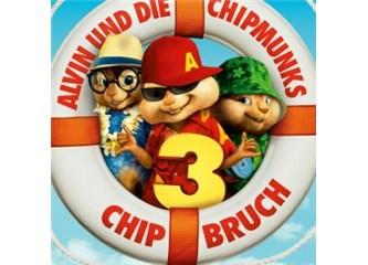 Alvin, sincaplar ve sinemada 3 çocuk