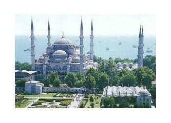 Sultanahmet Camisi'nin tarihi dokusuna dokunuldu!
