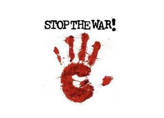 """""""Savaşa hayır"""" diyelim…"""