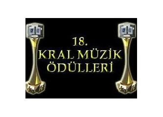 18 kral müzik ödülleri