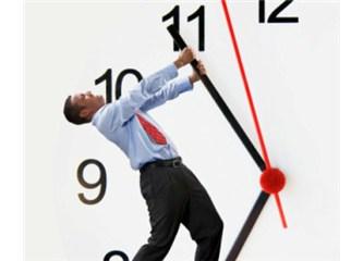 Zaman tuzakları ve zaman kayıplarına karşı zaman yönetimi