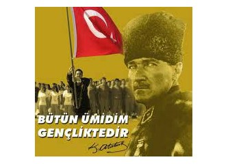 19 Mayıs Atatürk'ü Anma, Gençlik ve Spor Bayramı kutlu olsun…..