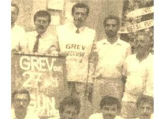 İl Başkanı Erdoğan grev gözcüsüydü, Başbakan Erdoğan grev yasağını savunuyor!