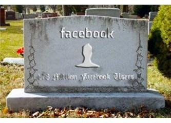 Kendi gitti facebook'u kaldı