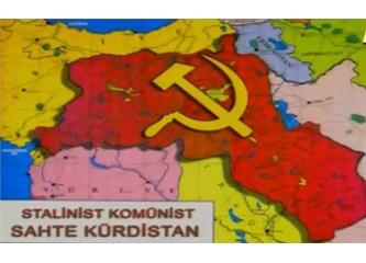 İşte PKK'nın kurmak istediği Komünist Kürdistan Devleti!