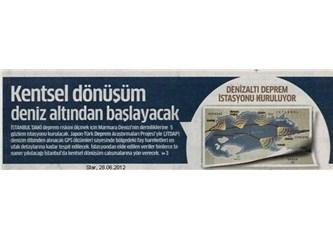 Marmara Denizi'nin derinliklerine 5 gözlem istasyonu kuruluyor