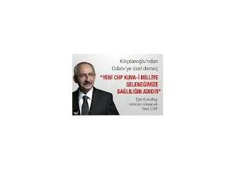 CHP Kurultayı başındaki 'Yeni'yi sildi!