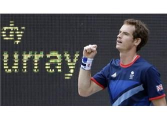 Teniste 2012 Olimpiyat altın madalyası Andy Murry'nin