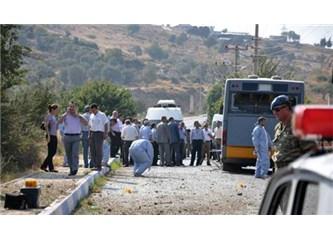 İzmir Foça'da hain PKK saldırısı