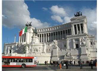 Medeniyetini tarihinden alan kent-Roma:Victor Emmanuel  Meydanı'ndan Aşk Çeşmesi'ne