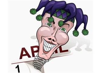 Bugün 1 Nisan - April Fools' Day !