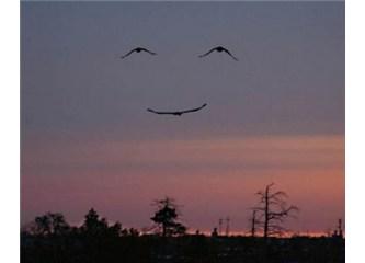 Anne lütfen gülümse!