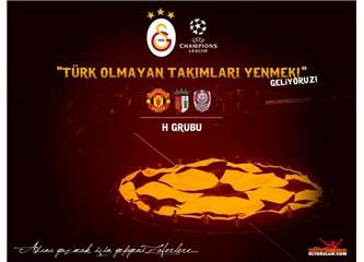 Türk olmayan takımları yenmenin tam zamanı... Başarılar Galatasaray...
