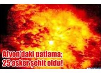 """""""Yürek yakan"""" patlama..."""