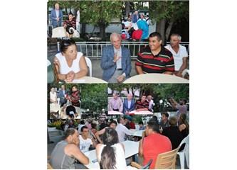 Burdur'da Dünya Engelliler ve Dostları Gelişim Derneği Genel Başkanı Nedim Kılınç Başkan Akkaya'yı z