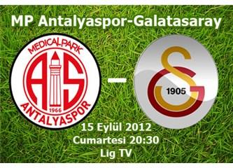 Galatasaray Antalya'da Süper Lig'i 4. Vitese taktı(0-4)