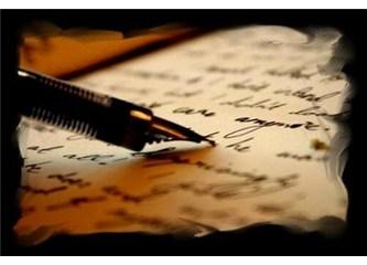 Hayata yazıyorum