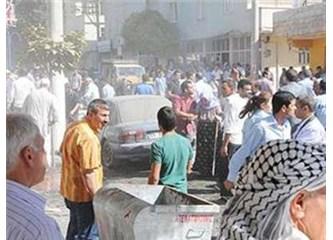 Akçakale Suriye'den atılan mermiyle vuruldu, Türkiye  karşılık verdi...