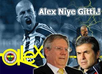 Fenerbahçe'de Alex De Souza, Aykut Kocaman, Aziz Yıldırım üçgeni: İstifa ve gidiş...
