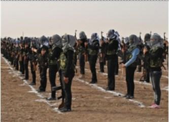 Suriye sınırında Kürt Ordusu kuruldu!... Nereye gidiyoruz?