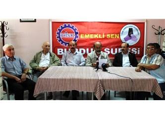Emekli Sen Burdur Şube Başkanı Fatih Özcan son yapılan zamlara tepki gösterdi