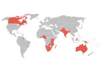 İngiliz Milletler Topluluğu ülkeleri, denizaşırı İngiliz toprakları, ve vize uygulamaları