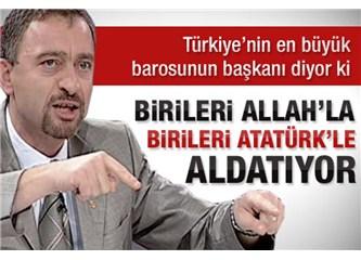 Benim Cumhurbaşkanı adayım İstanbul Baro Başkanı Ümit Kocasakal