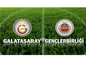 Gençlerbirliği: 3 – Galatasaray: 3, Galatasaray hala sallanıyor.