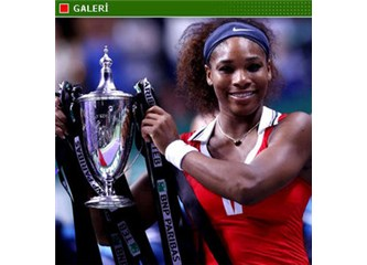 WTA-İstanbul finali- Serena'yı M.Sharapova'da durduramadı 2-0