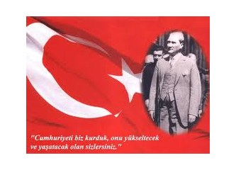Mustafa Kemal'imle sohbet...