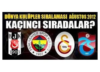 Dünya'nın en iyi 100 futbol takımı arasına giren tek Türk takımı hangisi?