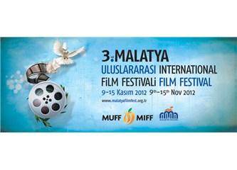 Malatya Film Festivali  Ortadoğu ve Barış Temasıyla yola çıktı