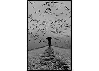 Sessizdir İstanbul yağmur yağdığında