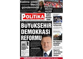 Demokrasi reformu mu dediniz?