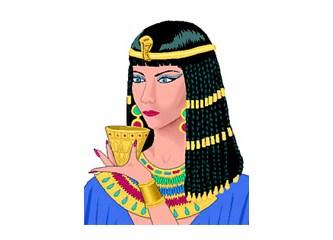 Makyajı kimler bulmuş?  Eski Mısır'da kadın erkek gözlerini boyarlarmış.