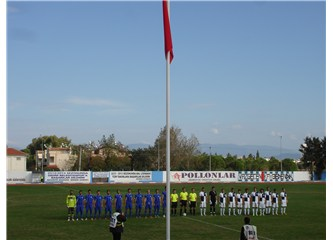 Didim Belediyespor, İzmirspor'u elinden kaçırdı....