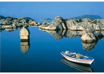 """Bir başka cennet - Denizin dibindeki cennet """"Kekova"""""""