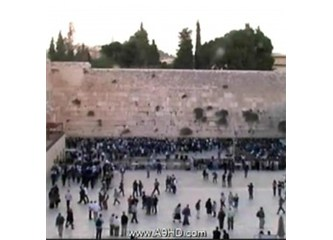 """Musevilerden Ağlama Duvarında """"Mehdi Duası"""""""