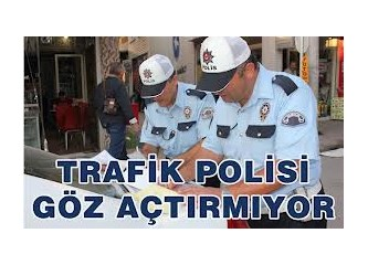 Trafik cezası uyarısı!