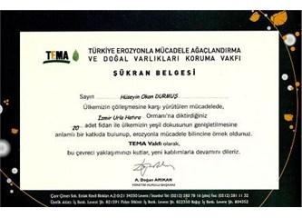 """""""24 Kasım Öğretmen Günü"""" nedeniyle düzenlenen fidan bağış kampanyası"""