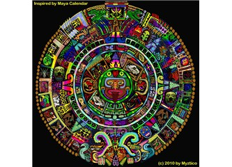 'Maya Takvimi'ne göre 21.12. 2012 'Kıyamet'e 25 gün kaldı!..